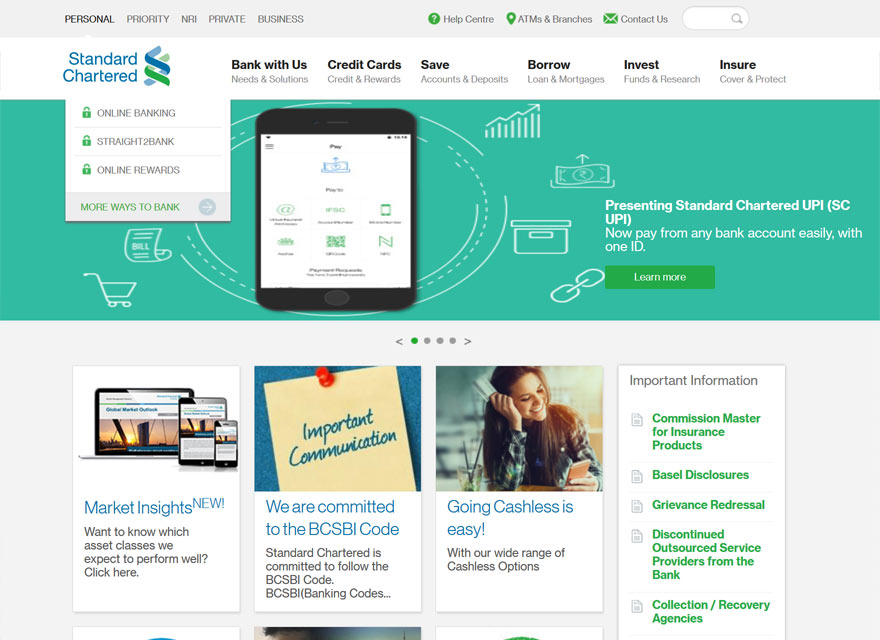Standard Chartered Casestudy